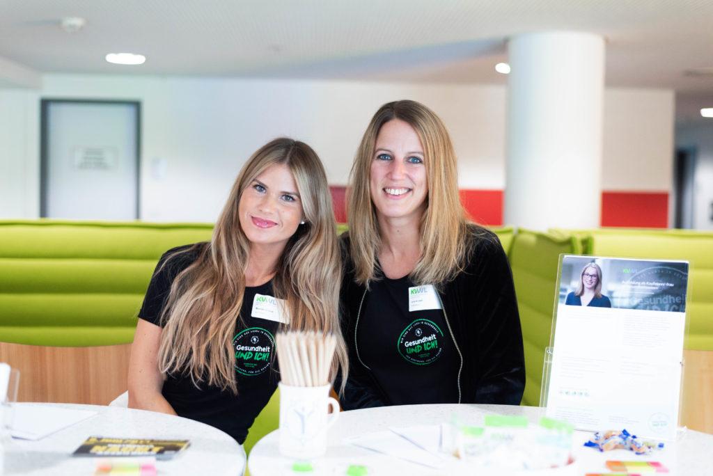 KVWL-Ausbilderinnen: Mareike Schroll (links) und Jana Krutzki (rechts)